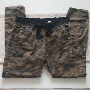 JCrew camo pants